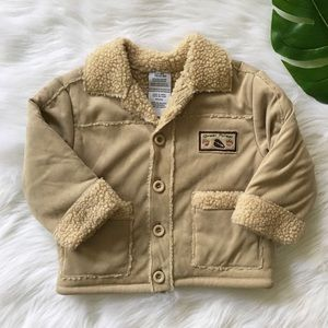 Other - K I D S | tan sweater jacket size 18mo